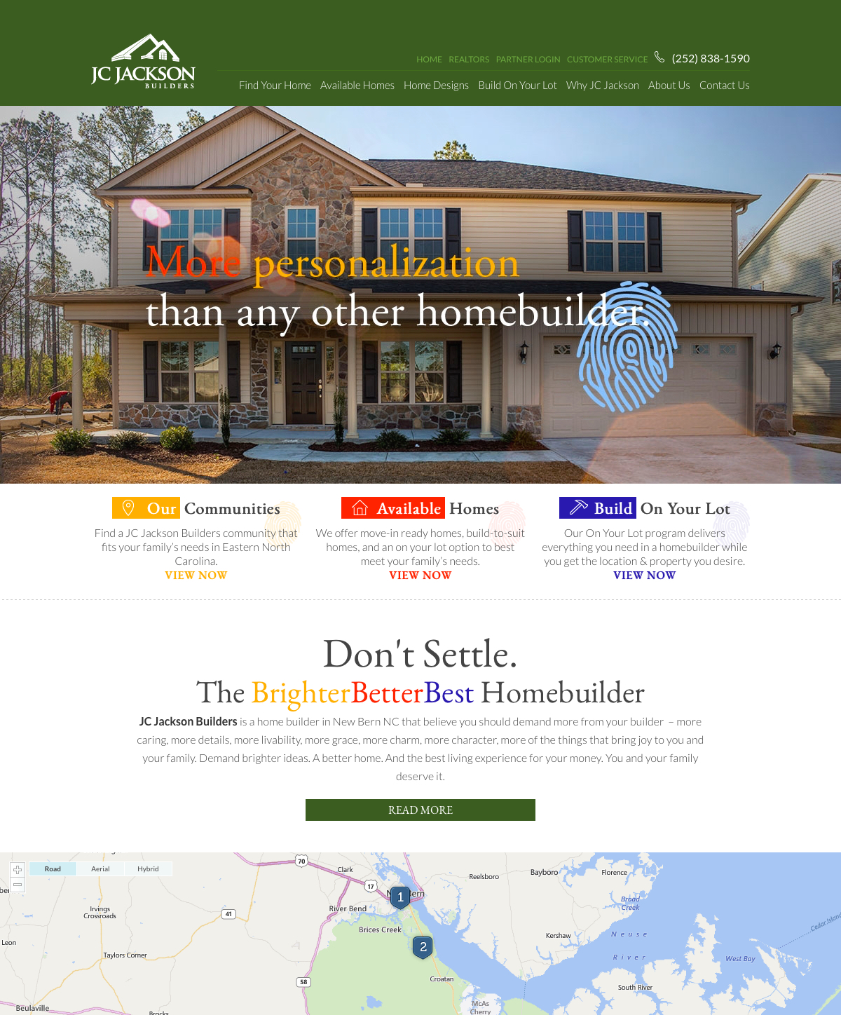 Home builder websites meredith communications for Homebuilder com