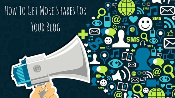How To Get More Share Fpr Your Blog