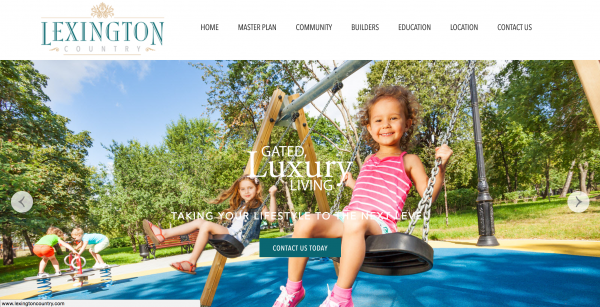 Home Builder Marketing at Lexington Country