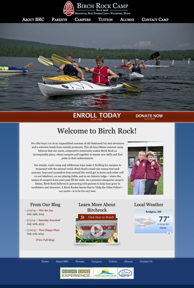 Birch Rock Summer Camp