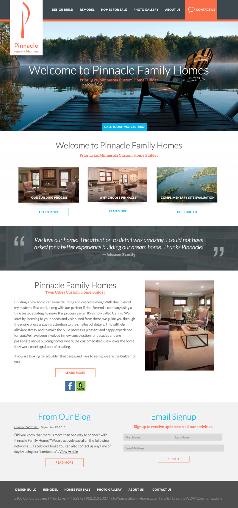 Pinnacle Family Homes