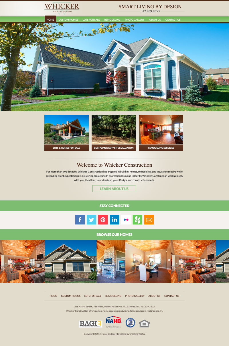 Whicker Construction