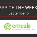 What's 'Appening App of the Week   eMeals
