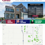 Crary Real Estate New Home Builder Website