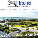 Glenn Layton Homes Website Wins Laurel Award