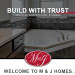 New Website Profile: M & J Homes
