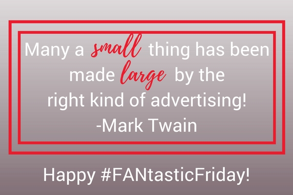 FANtastic Fridays   Running the Marketing Race