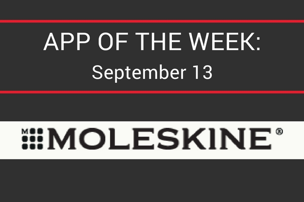 What's 'Appening App of the Week | Moleskine Smart Writing Set