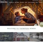 Home Builder Marketing Mondays: Thompson Homes Launches New Website