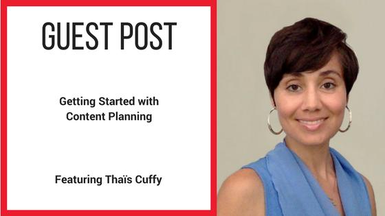 Guest Post Thais Cuffy
