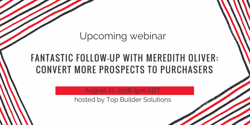 Webinar hosted by Top Builder Solutions