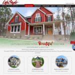 LifeStyle Home Builders Launches New Website