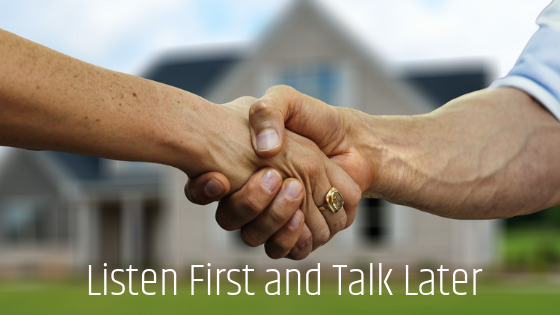 Listen First and Talk Later: Three Persuasive Steps to Earn Trust