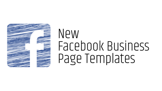 New Facebook Business Page Templates