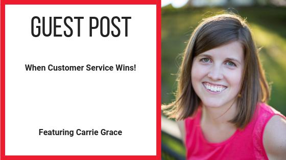 When Customer Service Wins!