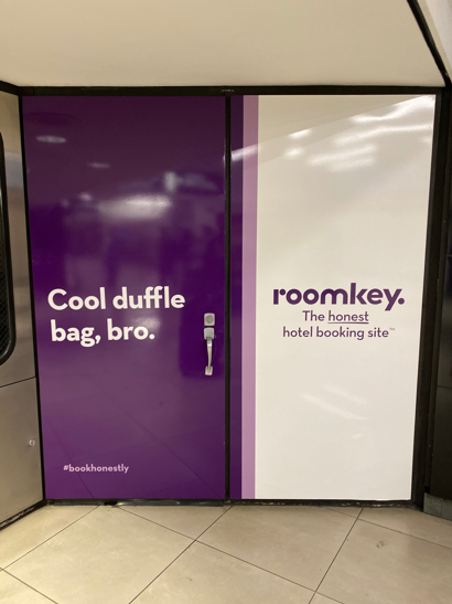 Cool Duffle Room Key Ad