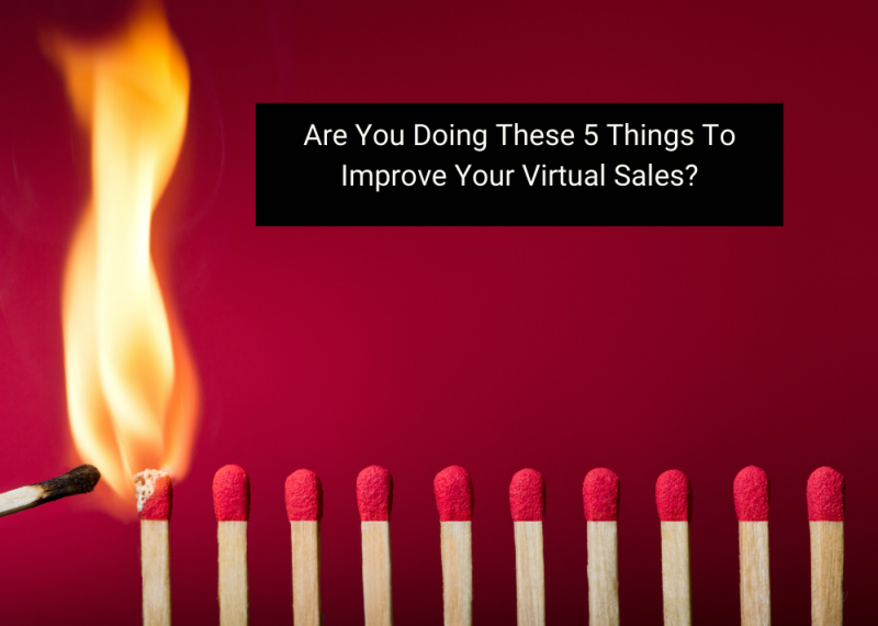 Improve Virtual Sales Matches