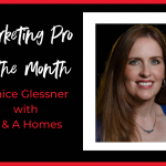 July Marketing Pro of the Month Janice Glessner
